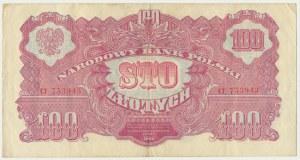 100 złotych 1944 ...owe - CT -
