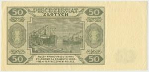 50 złotych 1948 - BL -
