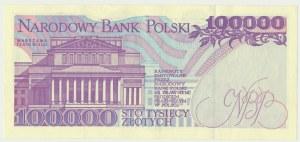100.000 złotych 1993 - Z - rzadka seria