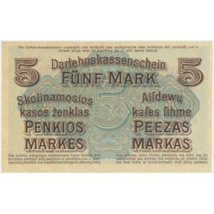 Kowno, 5 mark 1918 - C -