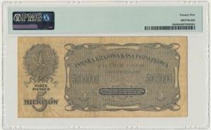 5 milionów marek 1923 - D - PMG 25