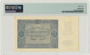 5 złotych 1940 - C - PMG 64 - b.rzadka seria