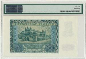 50 złotych 1940 - A - PMG 64