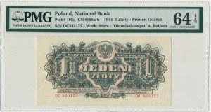 1 złoty 1944 ... owym - OC - PMG 64 EPQ