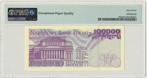 100.000 złotych 1993 - AE - PMG 67 EPQ