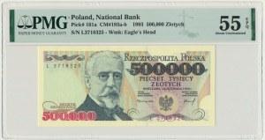 500.000 złotych 1993 - L - PMG 55 EPQ