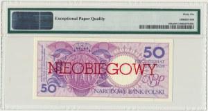 50 złotych 1990 - H - NIEOBIEGOWY - PMG 66 EPQ