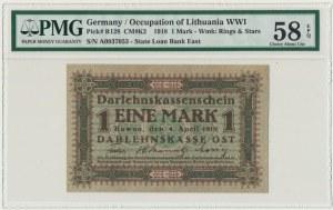 Kowno, 1 marka 1918 - A - PMG 58 EPQ