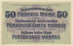 Kowno, 50 marek 1918 - D -