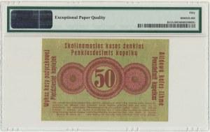 Posen, 50 kopeckss 1916 - short clause (P2d) - PMG 50 EPQ