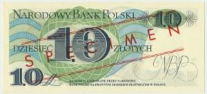 10 złotych 1982 - WZÓR A 0000000 No.0761 -