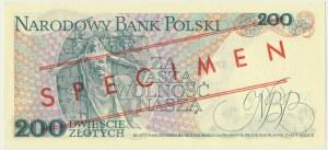 200 złotych 1976 - WZÓR A 0000000 No.1456 -