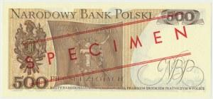 500 złotych 1979 - WZÓR AZ 0000000 No.2340 -
