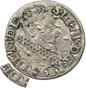 Sigismund III Vasa, 3 Groschen Krakau 1620