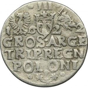 Sigismund III Vasa, 3 Groschen Krakau 1622
