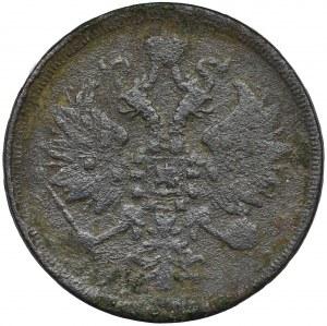 3 kopiejki Warszawa 1860 BM - RZADKIE