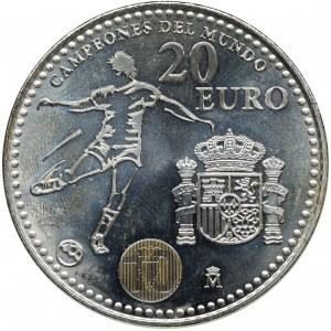 Hiszpania, Jan Karol I, 20 Euro 2010 - Mundial RPA 2010