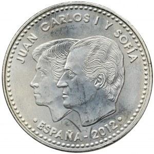 Hiszpania, Jan Karol I, 30 Euro 2012 - 10 rocznica Euro