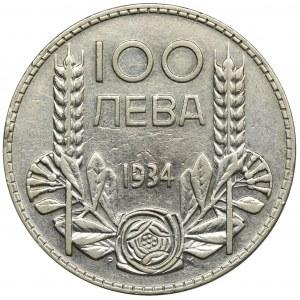 Bułgaria, Borys III, 100 Lewa Sofia 1934