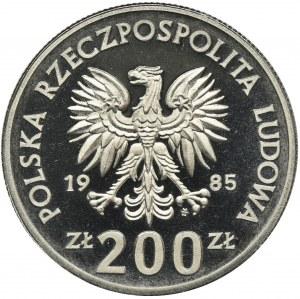 PRÓBA, 200 złotych 1985 - Pomnik-Szpital Centrum Zdrowia Matki Polki