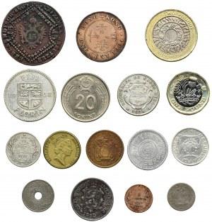 Zestaw, Mix monet z całego Świata (16 szt.)