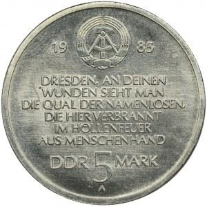 Niemcy, NRD, 5 Marek 1985 - Kościół Marii Panny w Dreźnie