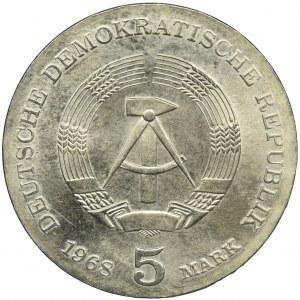 Niemcy, NRD, 5 Marek 1968 - Robert Koch
