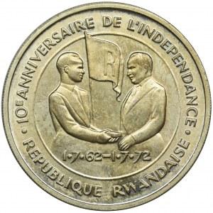 Rwanda, 200 Franków 1972