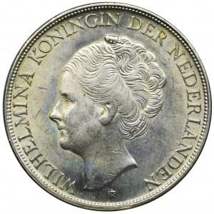 Niderlandy kolonie, Curacao, Wilhelmina, 2 1/2 Guldena Denver 1944 D
