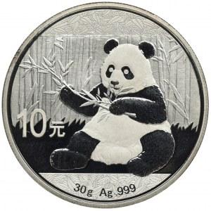 Chiny, 10 Yuan 2017 - Panda