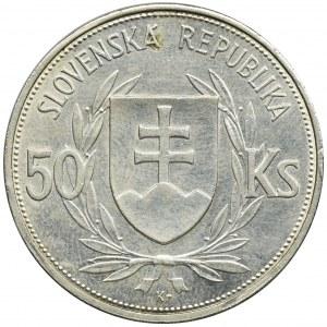 Słowacja, Republika autonomiczna, 50 Koron Kremnica 1944