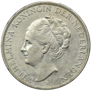 Niderlandy, Królestwo Niderlandów, Wilhelmina, 2 1/2 Guldena Utrecht 1931