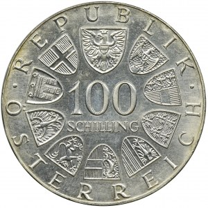 Austria, 100 Szylingów 1977 - 1200-lecie Klasztoru Kremsmünster