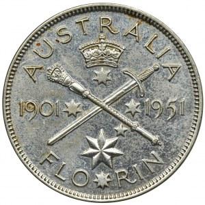 Australia, Jerzy VI, Floren Melbourne 1951