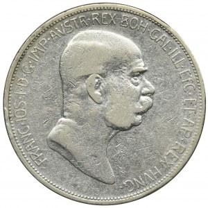 Austria, Franciszek Józef I, 5 Koron Wiedeń 1908