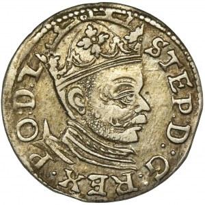 Stephen Bathory, 3 Groschen Riga 1583