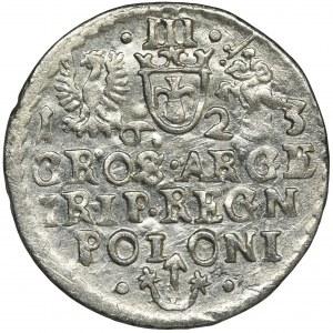 Sigismund III Vasa, 3 Groschen Krakau 1623