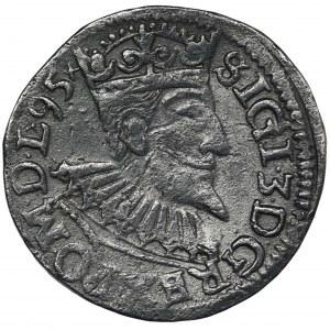 Sigismund III Vasa, 3 Groschen Wschowa 1595