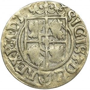 Zygmunt III Waza, Półtorak Bydgoszcz 1621 - litera J zamiast 1, RZADKI