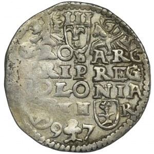 Zygmunt III Waza, Trojak Poznań 1597 - NIENOTOWANY