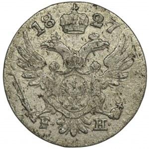 Królestwo Polskie, 5 groszy polskich 1827 FH