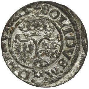 Zygmunt III Waza, Szeląg Wilno 1625 - RZADKI, L wybite z dwóch I