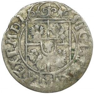 Zygmunt III Waza, Półtorak Bydgoszcz 1623 - NIENOTOWANY, przebitka w jabłku