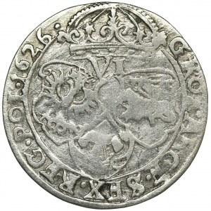 Zygmunt III Waza, Szóstak Kraków 1626 - BARDZO RZADKI