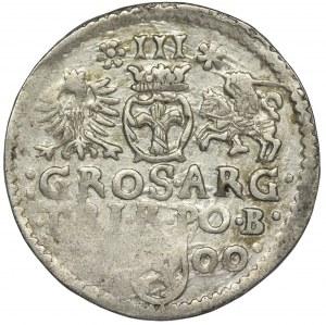 Zygmunt III Waza, Trojak Bydgoszcz 1600 - bez G, RZADKI