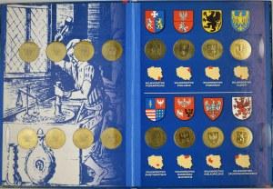 Zestaw, Gold Nordic (16 szt.) - Województwa