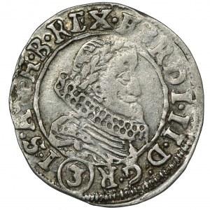 Austria, Ferdynand II, 3 Krajcary Praga 1635