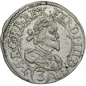 Austria, Ferdynand III, 3 Krajcary Graz 1638