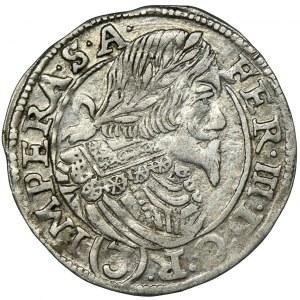 Austria, Ferdynand II, 3 Krajcary Jáchymov 1645 - RZADKIE