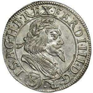 Austria, Ferdynand III, 3 Krajcary Graz 1649